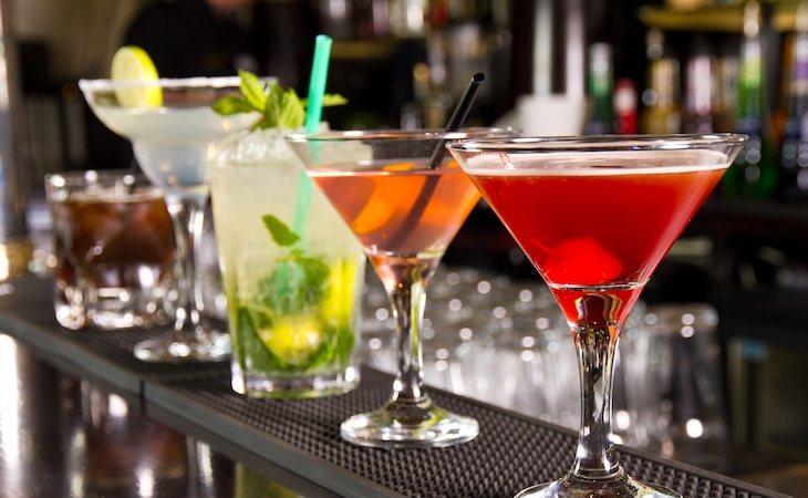 Las bebidas oscuras contienen más congéneres