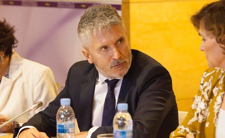 El ministro del Interior Fernando Grande-Marlaska
