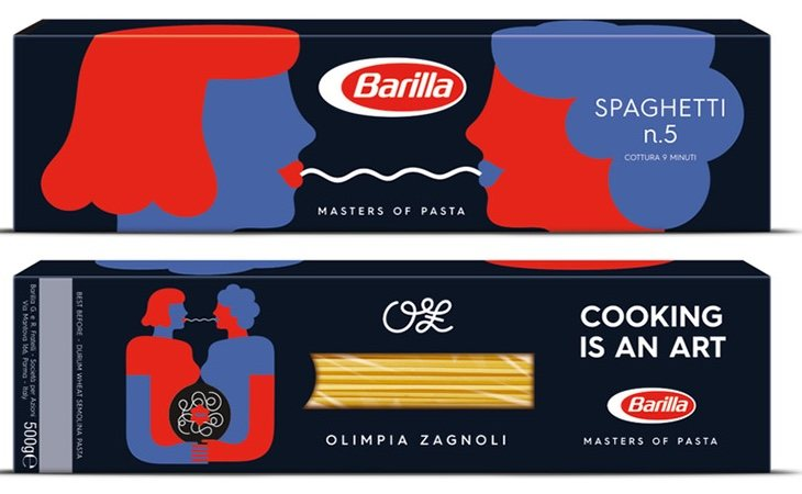 Barilla ha lanzado una línea de pastas en la que incluye a parejas lesbianas