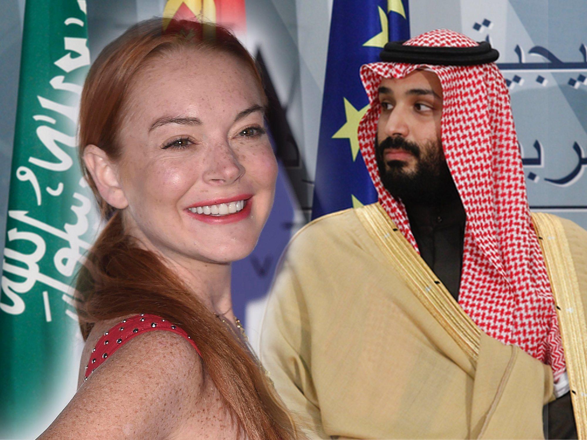 Estallan rumores de un intenso romance entre Lindsay Lohan y el heredero de Arabia Saudí
