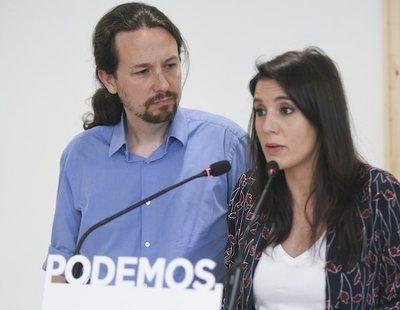 """La verdad sobre el polémico vídeo en el que Pablo Iglesias """"manda callar"""" a Irene Montero"""
