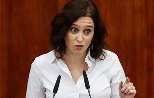 Isabel Díaz Ayuso, investida presidenta de la Comunidad de Madrid con los apoyos de Cs y VOX