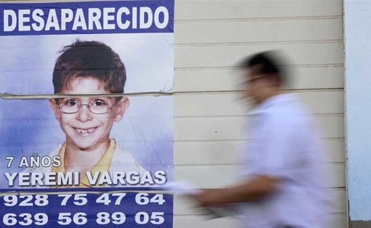 Yéremi Vargas, más de 12 años desaparecido