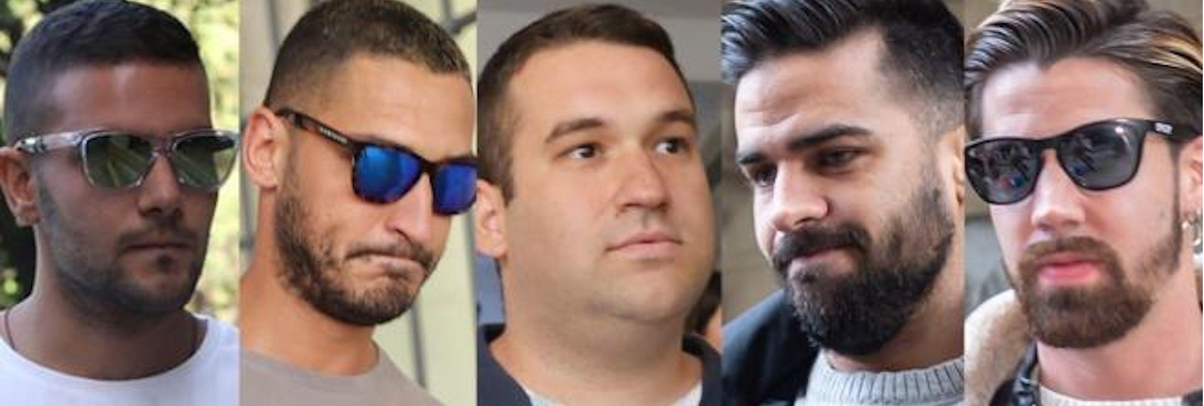 Los miembros de 'La Manada', separados: estas son las cinco cárceles donde cumplirán condena