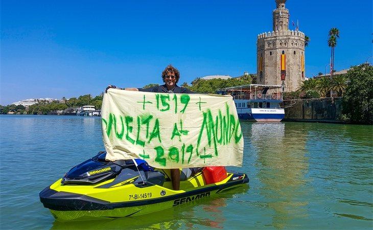 El aristócrata pretende dar la vuelta al mundo en homenaje a El Cano y Magallanes, 500 años después del comienzo de su hazaña