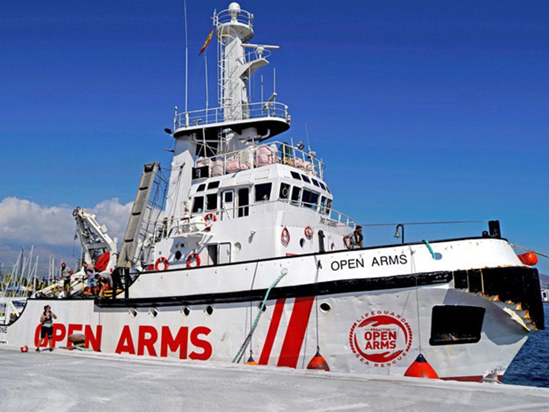 ¿Cómo se financia Open Arms?