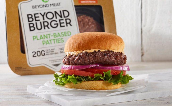 Hamburguesa vegana de Beyond Meat