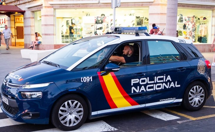 La Policía Nacional detuvo al hombre tras la agresión