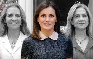 Enemigas íntimas: los enfrentamientos entre la reina Letizia con las infantas Elena y Cristina