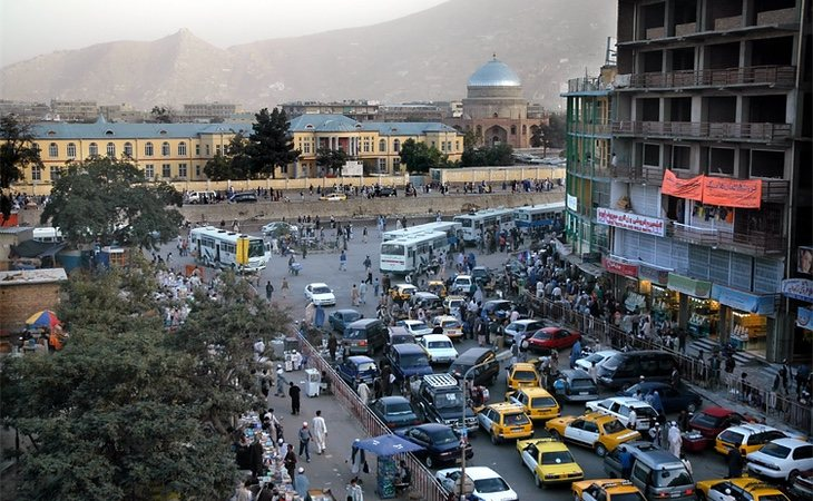 Kabul, capital de Afganistan
