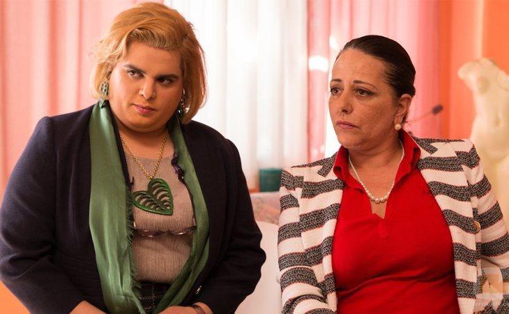 Paquita y Noemí Argüelles en 'Paquita Salas'