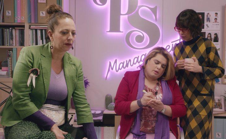 Noemí, Paquita y Magüi en 'Paquita Salas'