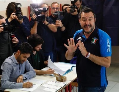 Así ha conseguido dispararse Salvini gracias a sus pactos con el M5S: está a punto de gobernar