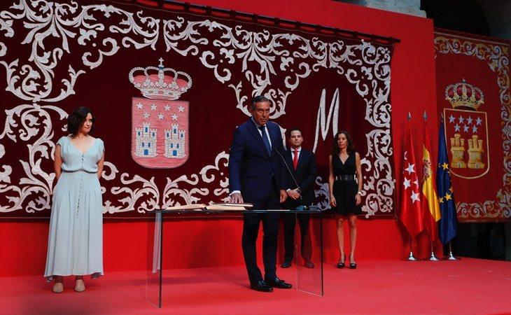 El nuevo consejero de Justicia, Enrique López, toma posesión de su cargo