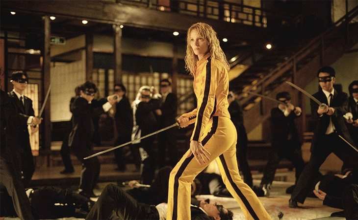Uma Thurman en 'Kill Bill'