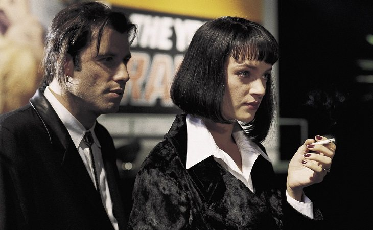 John Travolta y Uma Thurman en 'Pulp Fiction'