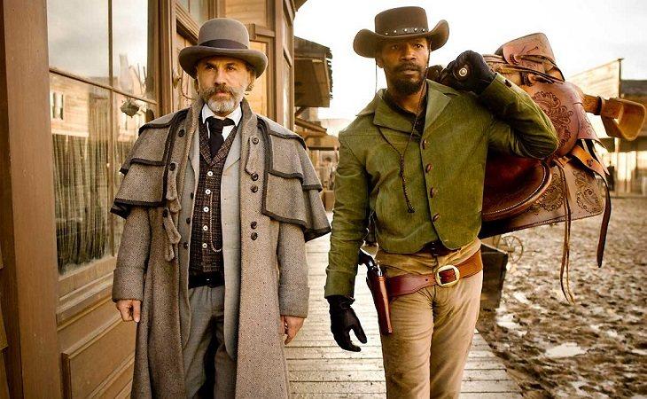 Don Johnson y Jamie Foxx en 'Django desencadenado'
