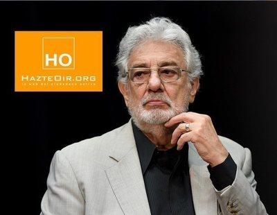 """HazteOír recoge firmas a favor de Plácido Domingo contra su """"linchamiento totalitario"""""""