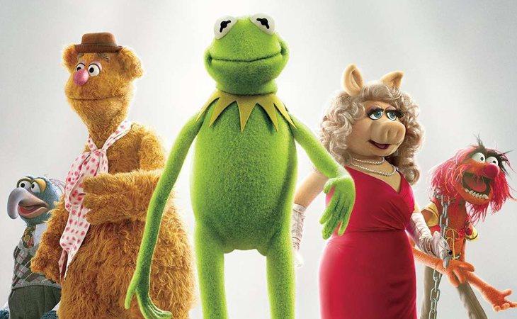 Protagonistas de 'Los Muppets'