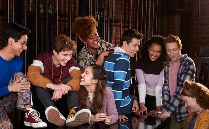 Protagonistas de 'High School Musical: The Musical: The Series'