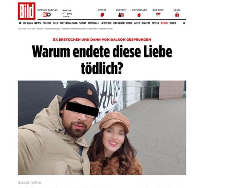 El diario Bild Zeitung: