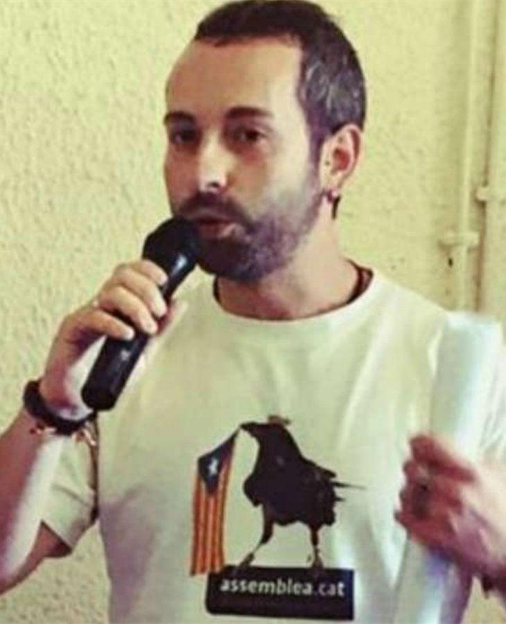 Joan Marc Jesús, miembro del Secretariado de la ANC que suscitó una gran polémica por la apatía mostrada ante el accidente del comandante