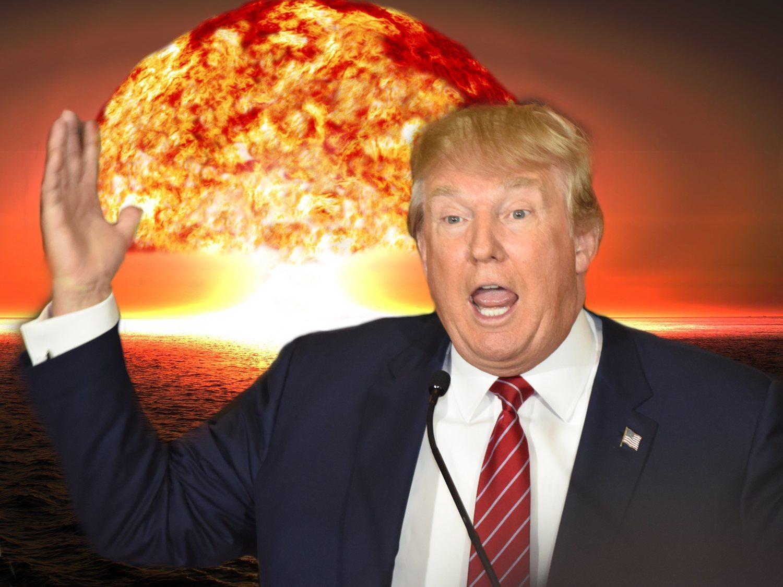 Donald Trump propone combatir los huracanes estallando bombas nucleares contra ellos
