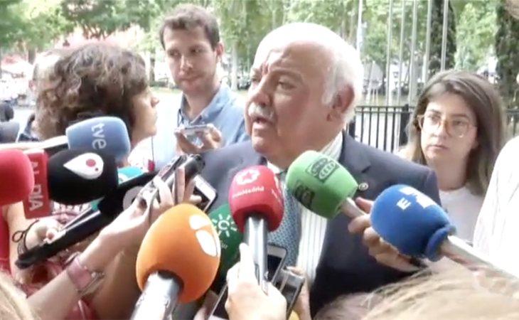 Jesús Aguirre, consejero de salud en Andalucía, asegura que Martínez León era una mera distribuidora de la carne de 'La Mechá'