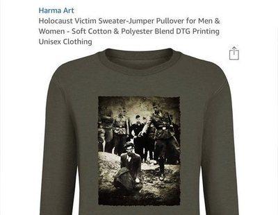 Críticas contra Amazon por vender prendas con la imagen de un nazi ejecutando a un judío