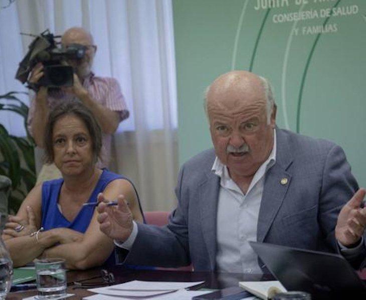 Jesús Aguirre ha defendido su gestión de la crisis sanitaria