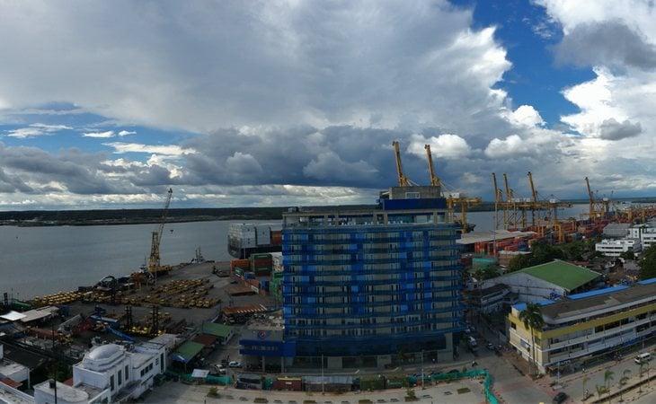 Puerto de Buenaventura (Colombia), el lugar donde las autoridades interceptaron el barco con 80 kilogramos de cocaína
