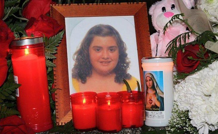 Acto de homenaje a la menor asesinada
