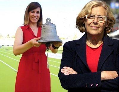 Ciudadanos se atribuye en redes la inauguración de un estadio construido con Carmena