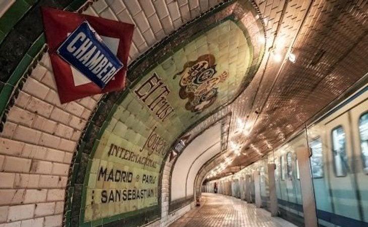 La estación fantasma de Chamberí