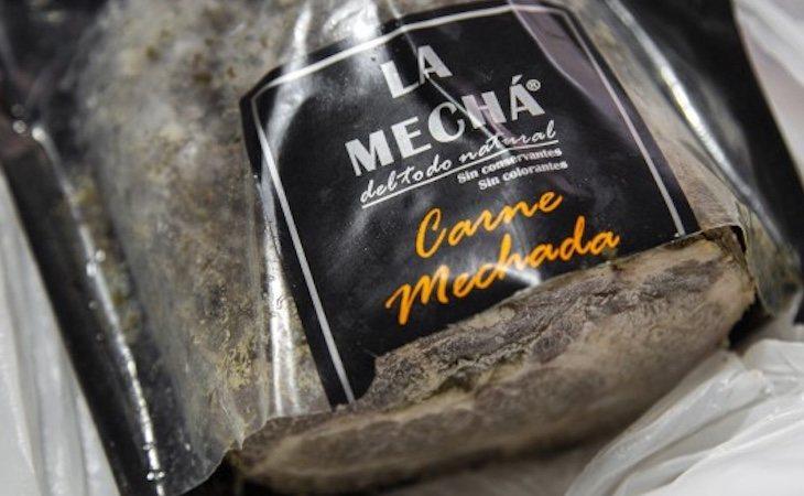 La carne mechada infectada era producida por la empresa Magrudis