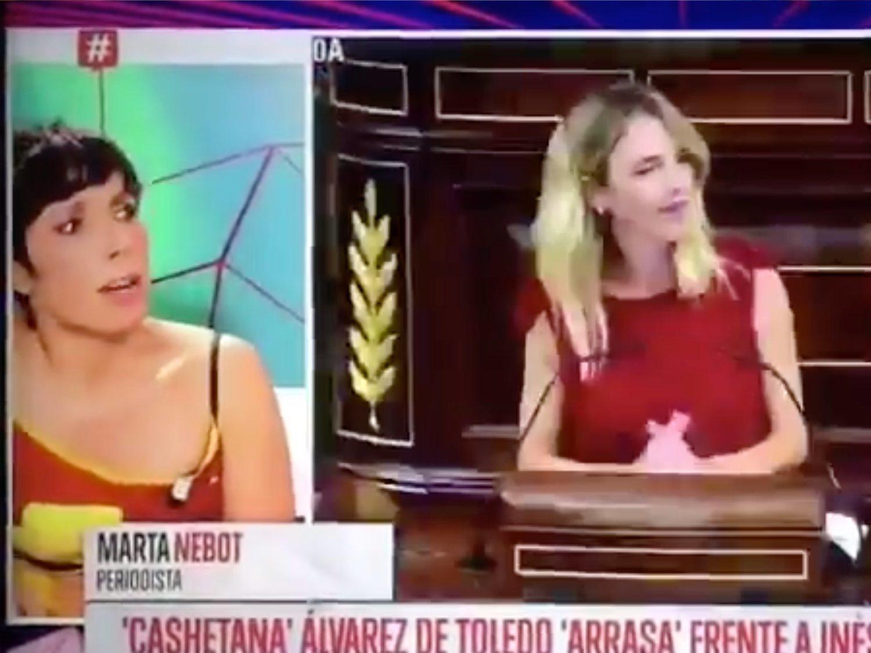 """No, Marta Nebot no ha llamado """"puta"""" a Cayetana Álvarez de Toledo en 'Todo es mentira'"""