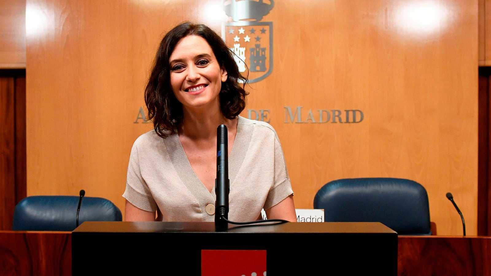 Isabel Díaz Ayuso está conformando su equipo de Gobierno