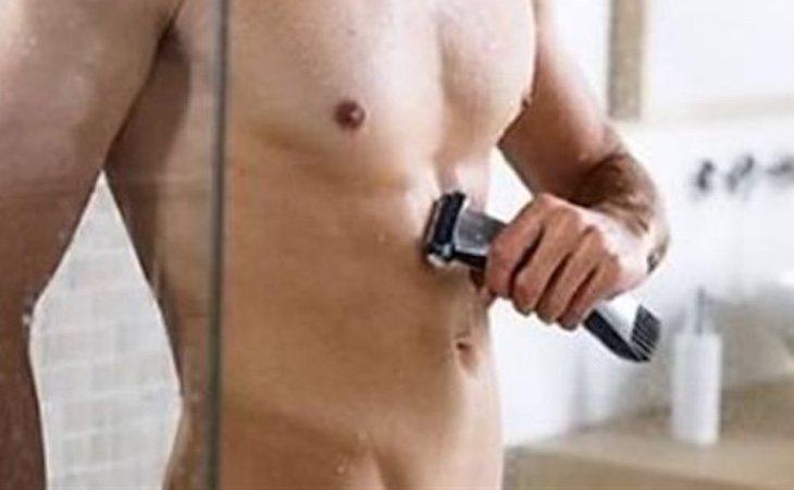 La depilación total masculina conlleva algunos riesgos