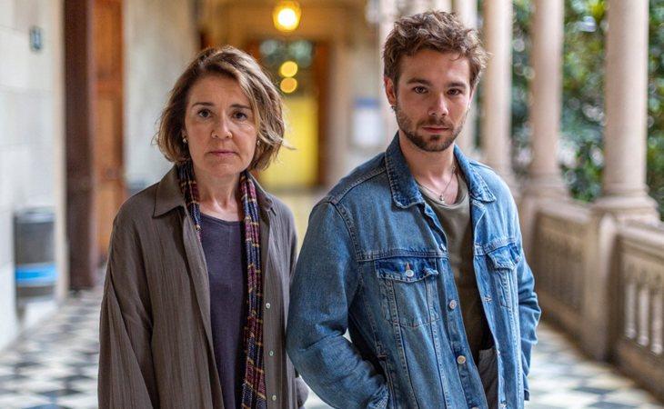 María Pujalte y Carlos Cuevas en 'Merlí: Sapere Aude'