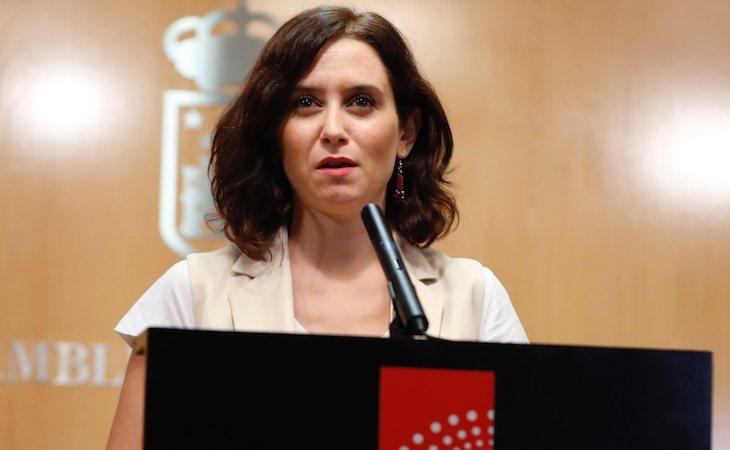 Isabel Díaz Ayuso aboga por la buena y