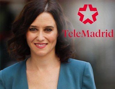 """Díaz Ayuso advierte del posible cierre de Telemadrid: """"Ya no es esencial"""""""