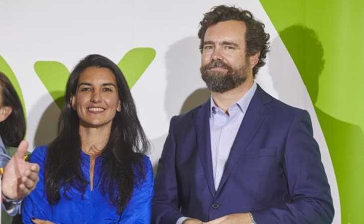 Rocío Monasterio e Iván Espinosa de los Monteros