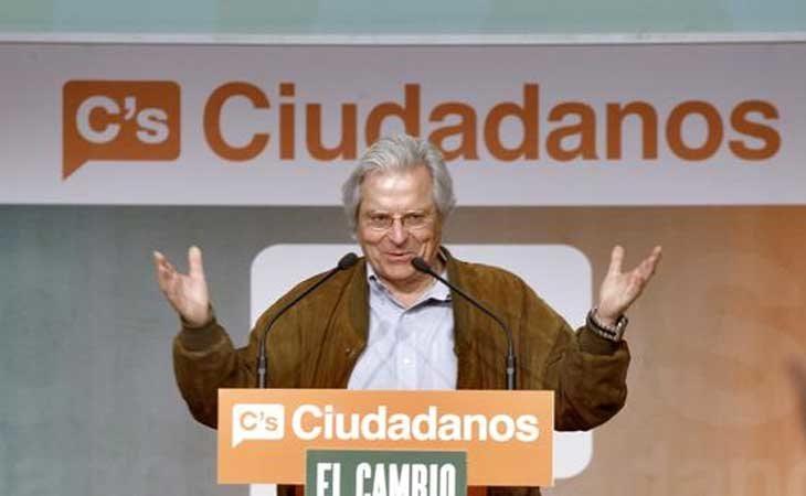 Javier Nart en un mitín de Ciudadanos