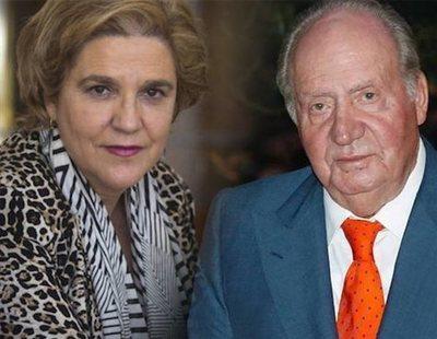 Pilar Rahola denuncia tocamientos por parte del rey Juan Carlos