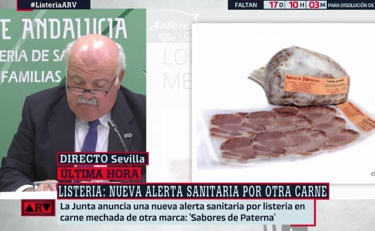 La Junta de Andalucía y su consejero destacan la agilidad competente a las autoridades sanitarias al decretar la alerta relativa a la carne de 'Sabores Paterna'