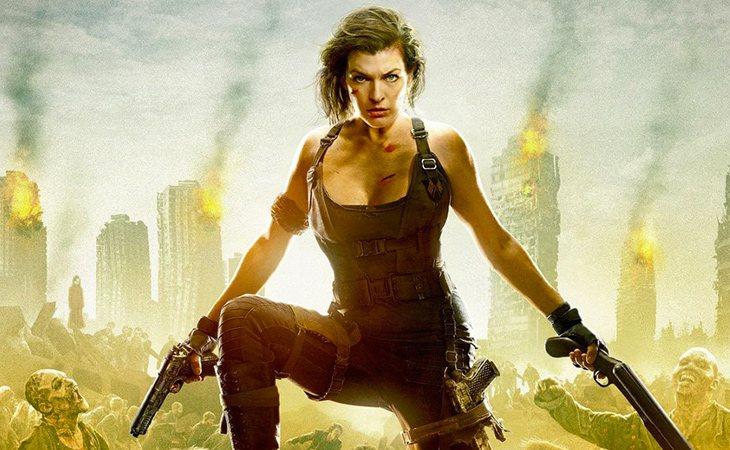 Milla Jovovich protagoniza las seis películas de 'Resident Evil'