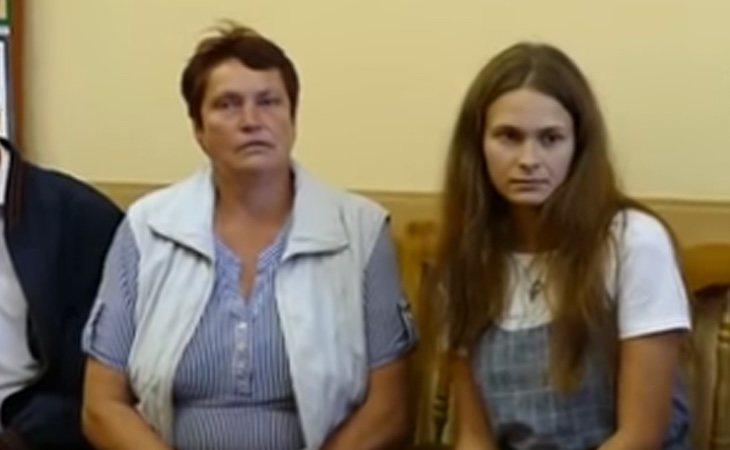 Lyudmila, la madre biológica de la joven, nunca perdió la esperanza de reencontrarse con su hija