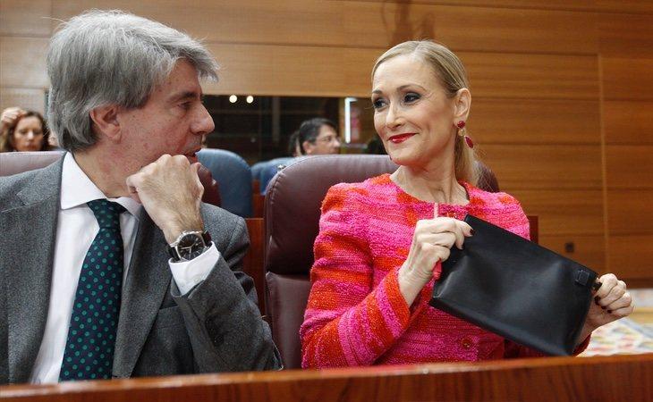 Cifuentes ha justificado el paso de Ángel Garrido, su número dos, a Ciudadanos