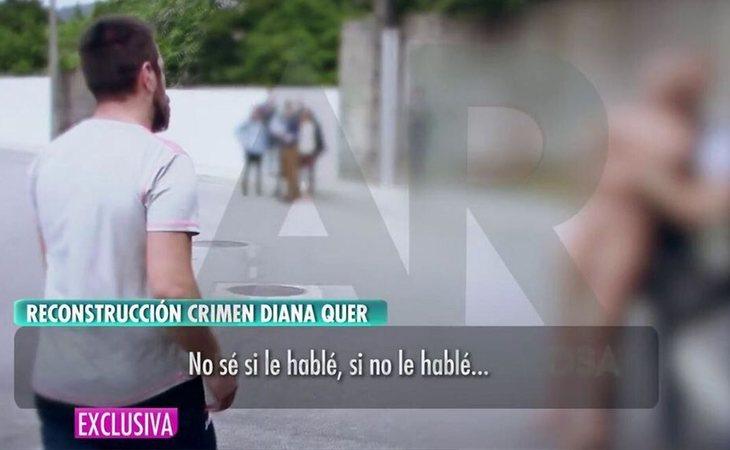 Imágenesde la reconstrucción del crimen emitidas por 'El programa de Ana Rosa'
