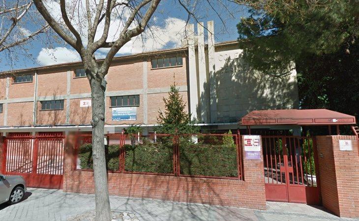 Fachada del colegio Santa María de la Hispanidad | Google Maps